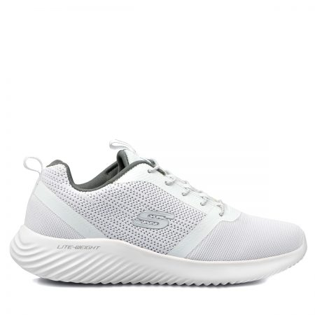 SKECHERS ΑΝΔΡΙΚΑ ATHLETIC MEMORY-FOAM-BOUNDED ΛΕΥΚΟ