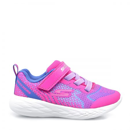 SKECHERS ATHLETIC NEON PINK GO RUN 600-RADIANT-RUNNER ΓΙΑ ΚΟΡΙΤΣΙ BEBE