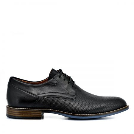 DAMIANI ΑΝΔΡΙΚΑ LACE UP SHOES ΑΝΑΤΟΜΙΚΑ ΔΕΡΜΑ ΜΑΥΡΟ LASER