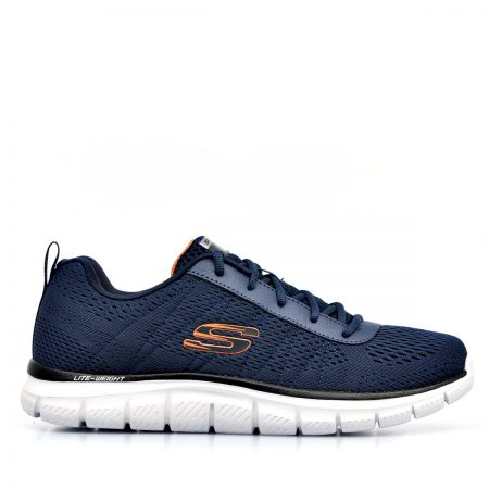 SKECHERS ΑΝΔΡΙΚΑ ATHLETIC TRACK-MOULTON MEMORY FOAM ΜΠΛΕ