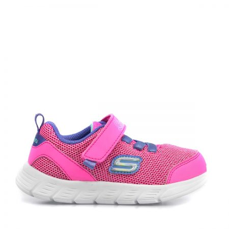 SKECHERS ATHLETIC ΓΙΑ ΚΟΡΙΤΣΙ BEBE COMFY FLEX MOVING ON ΡΟΖ MEMORY FOAM