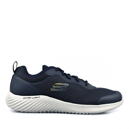 SKECHERS ΑΝΔΡΙΚΑ ATHLETIC BOUNDER VOLTIS NAVY AΕΡΟΣΟΛΑ MEMORY FOAM