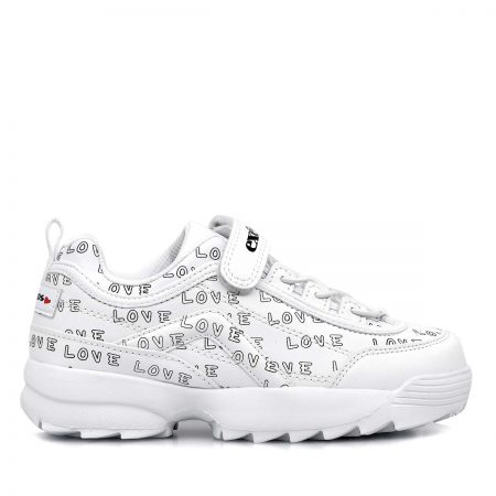 EXE KIDS SNEAKERS ΓΙΑ ΚΟΡΙΤΣΙ ΛΕΥΚΟ-ΣΤΑΜΠΑ ΣΥΝΘΕΤΙΚΟ ΜΕ ΔΕΡΜΑ EXTRA-LIGHT