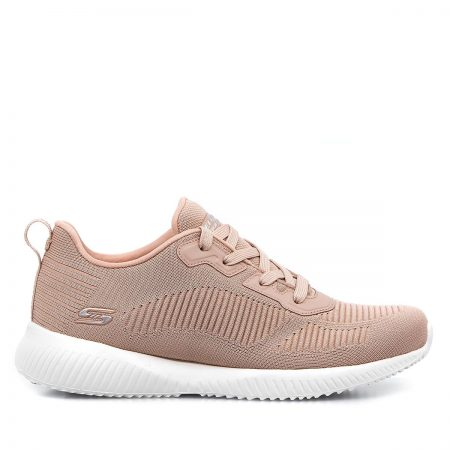 SKECHERS ΓΥΝΑΙΚΕΙΑ ATHLETIC NUDE BOBS SQUAD – TOUGH TALK – MEMORY FOAM