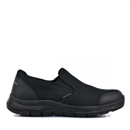 SKECHERS ΑΝΔΡΙΚΑ ATHLETIC ΜΑΥΡΟ FLEX ADVANTAGE 4.0 TUSCAN BLACK MEMORY FOAM
