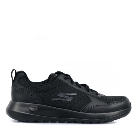 SKECHERS ΑΝΔΡΙΚΑ ATHLETIC ΜΑΥΡΟ GO WALK MAX-PAINTED SKY- BLACK MEMORY FOAM