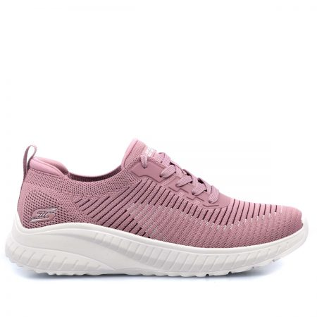 SKECHERS ΓΥΝΑΙΚΕΙΑ SNEAKERS-BOBS SQUAD CHAOS-RENEGADE-PARADE-MEMORY FOAM-NUDE